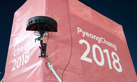 Intel VR camera at PyeongChang