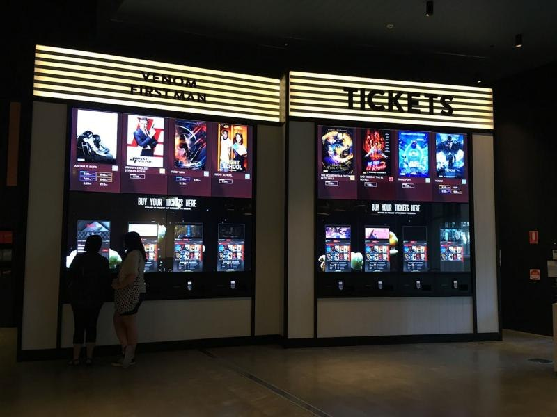 Touch Enabled Video Wall Provides Front-of-house Solution In Cinema Foyers