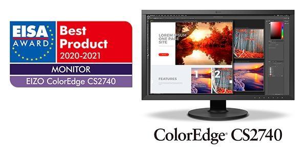 Best 4k Monitors 2021 Eizo ColorEdge CS2740 4K Monitor Wins EISA Monitor of the Year